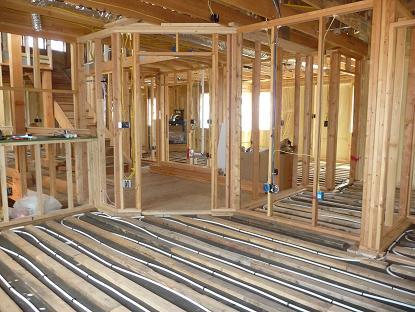Heating Basement Floors Platinum Leed Home Colorado Hydronic Radiant Heating  And Cooling